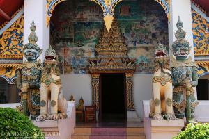 ancient temple Wat Si Khun Mueang, Chiang Khan, Loei province, Thailand