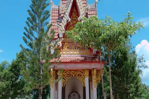Crematorium in traditional Thai style,  Dan Sai, Loei province, Thailand