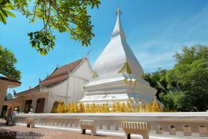Stupa in Phra That Si Song Rak in Amphoe Dan Sai, Loei province, Thailand