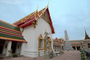 Wat Pho  Temple of the Reclining Buddha, its official name is Wat Phra Chetuphon Vimolmangklararm Rajwaramahaviharn, Phra Nakhon district, Bangkok, Thailand